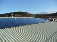 Solar Panels on Wilde Thyme Roof