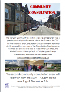 community consultation poster