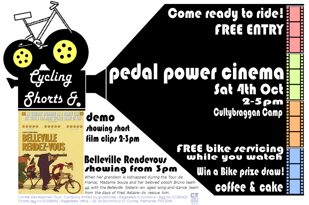 pedal power cinema poster