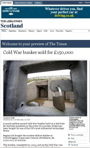 Bunker Story in the Times