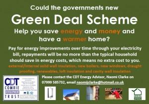 Green Deal Poster
