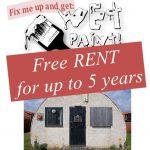 Free huts