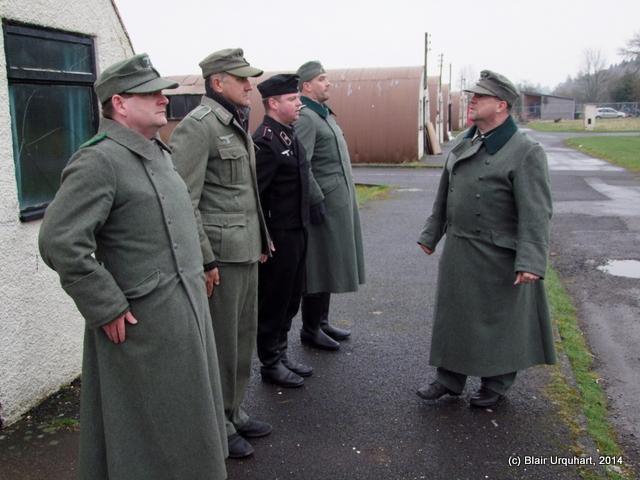Prisoners - re-enactment