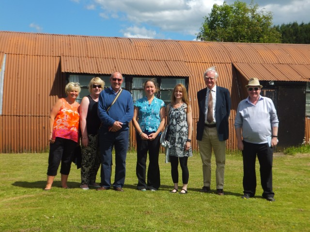 Comrie Visit with Lossie CC July 2014 017