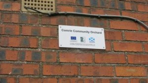 community-orchard-sign
