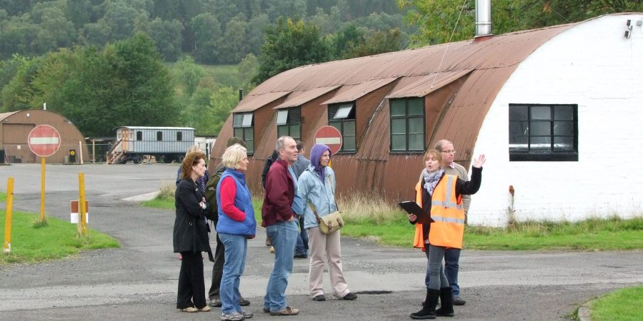 Guided Tours of Cultybraggan Camp