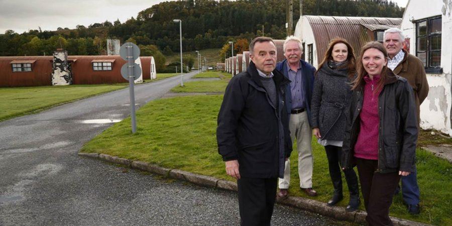 Aileen McLeod MSP visits Cultybraggan Camp