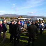 Scottish Rural Network visit Cultybraggan Camp