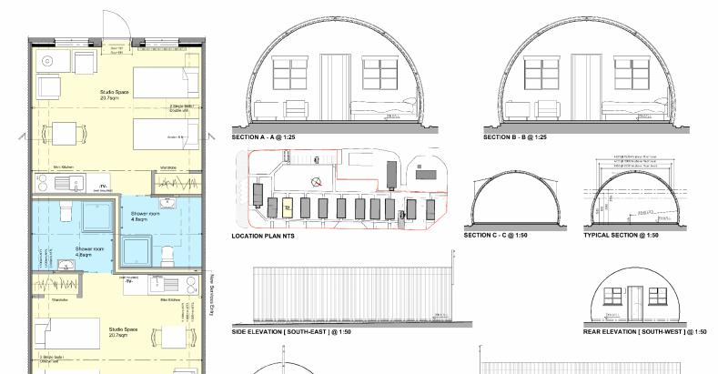 Cultybraggan Self-Catering Development – Business Plan & Design Drawings