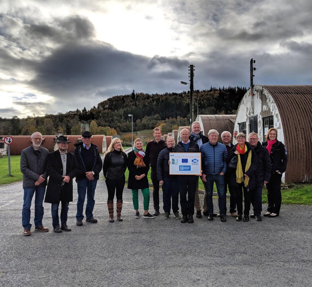 Danish Group Visit Food Developments at Cultybraggan