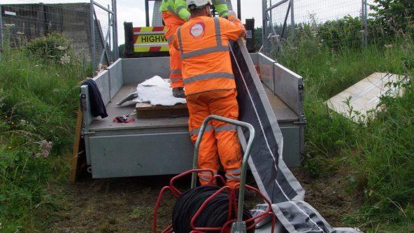 Repairing Old Sewage Pipe
